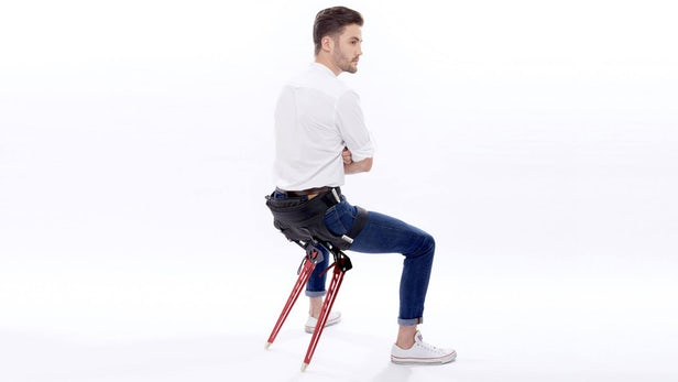 Lex Folding Wearable Chair Lets You Take A Seat Anywhere